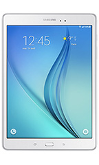 photo Samsung Galaxy Tab A 9.7 pouces 4G Blanc