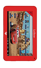 photo Lexibook Disney Cars HD 7 pouces Rouge