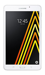 photo Samsung Galaxy Tab A 7 pouces 4G (2016) Blanc
