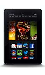 Amazon Kindle Fire HDX 7' 64Go Noir