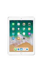 Apple iPad 9.7 pouces (2018) 128 Go Wifi + Cellular Or