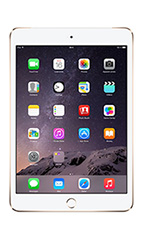 Tablette Apple iPad Mini 3 128Go 4G Or