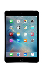 Tablette Apple iPad Mini 4 4G 128Go Gris Sidéral