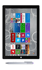 Tablette Microsoft Surface Pro 3 256 Go Noir