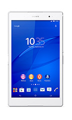 Tablette Sony Xperia Z3 Tablet Compact 16Go Wi-Fi  Blanc