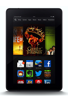 "Amazon Kindle Fire HDX 7"" 16Go Noir"