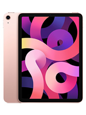Apple iPad Air (2020) 64 Go Wi-Fi + Cellular Or Rose