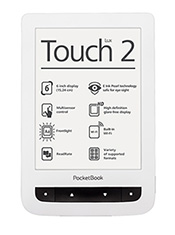 PocketBook Touch Lux 2 Blanc