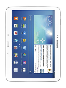 tablette samsung galaxy tab  go g blanc do