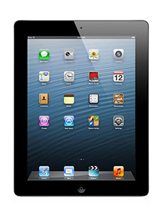 Apple iPad 4 Retina 16Go 3G Noir