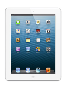 Apple iPad 4 Retina 16Go Blanc