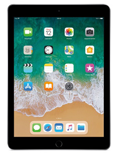 Apple iPad 9.7 (2018) 32 Go Wifi+ Cellular Gris Sidéral