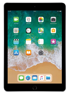 Apple iPad 9.7 Wifi (2018) Gris Sidéral