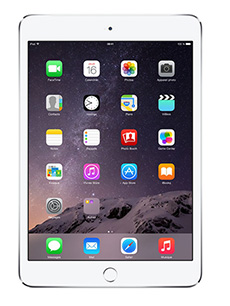 Apple iPad Mini 3 128Go 4G Argent