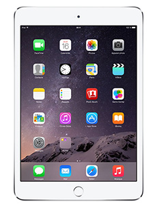 Apple iPad Mini 3 64Go 4G Argent