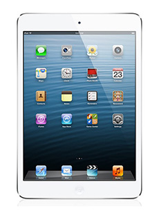 Apple iPad mini 3G  Blanc