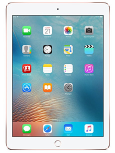 Apple iPad Pro 9.7 pouces 4G 128Go Or Rose