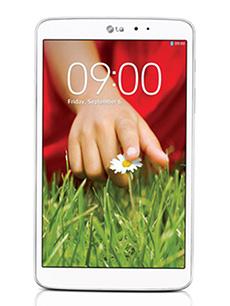 LG G Pad 8.3 Blanc