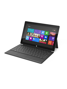 Microsoft Surface RT (Clavier Touchcover)